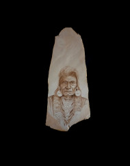 Chief Joseph Sandstone 27 H X 12 W