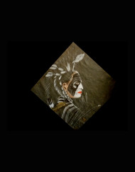 Sioux Dancer Slate 23 H X 25 W